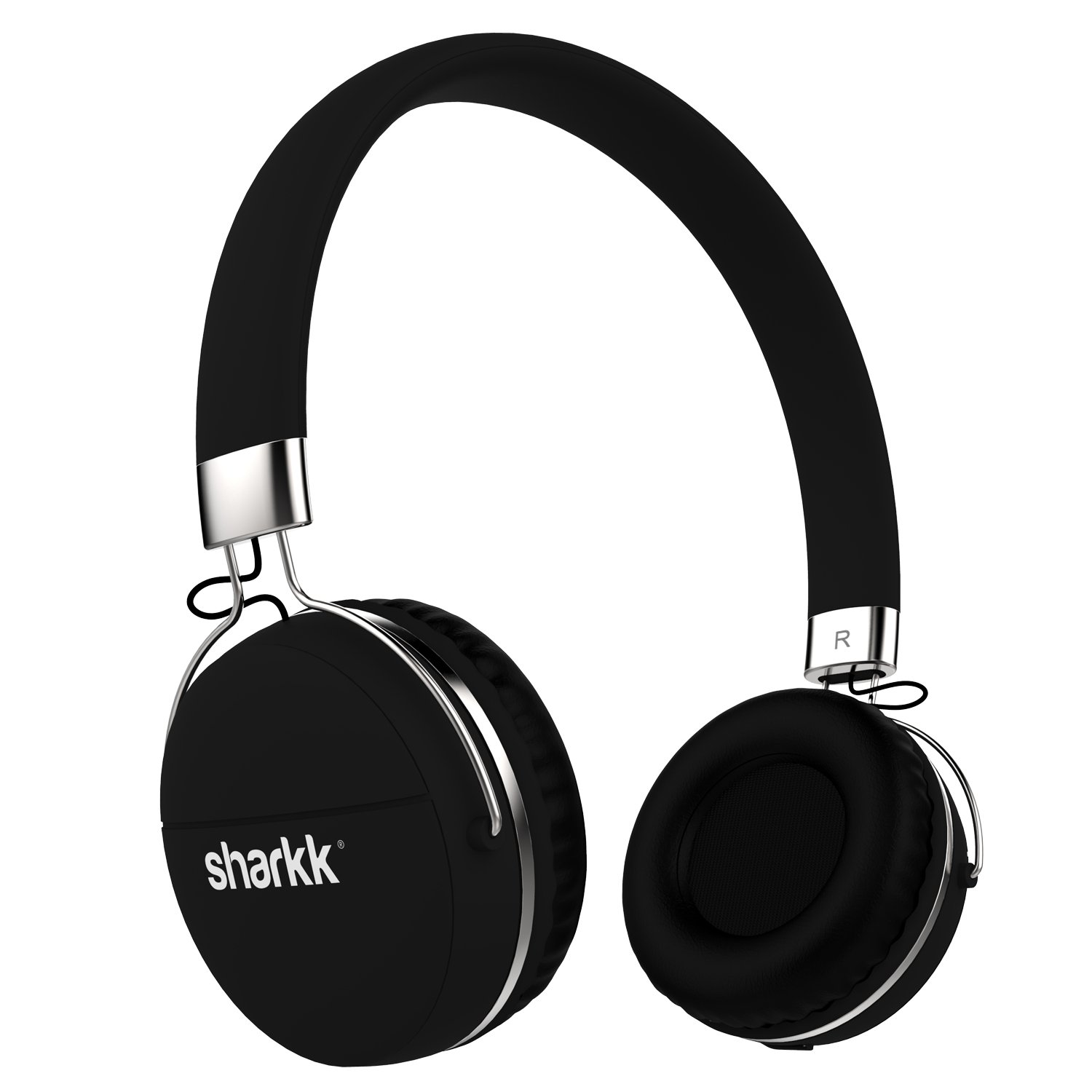 Bluetooth Headphones Sharkk Stereo Multi-Point Connected Bluetooth Wireless Headset Headphones 12 Hour Play Time Bluetooth Headset with Mic
