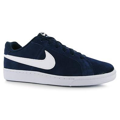 timeless design a8c17 796d0 Nike Court Royale Daim Baskets pour Homme Bleu MarineBlanc décontracté  Sneakers Chaussures Chaussures,