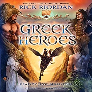 Percy Jackson's Greek Heroes Audiobook