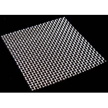 Stainless Steel Woven Wire Mesh 15cm x 15cm, 11 hole sizes / Mesh count / Aperture size. (8 Mesh) by Inoxia Ltd