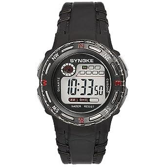 Ecotrumpuk Relojes Electrónicos Impermeables de los Deportes de la Muñeca del Reloj Digital de los Niños de la Moda: Amazon.es: Relojes