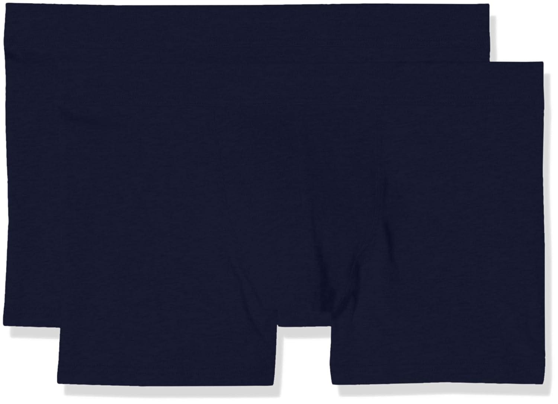 TALLA Medium (Talla del fabricante: 4). LVB Stretch Cotton LP Bañador de natación (Pack de 2) para Hombre
