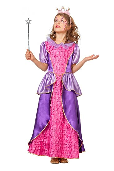Karneval Klamotten Party Set Kostum Prinzessin Kind Inkl Feenstab