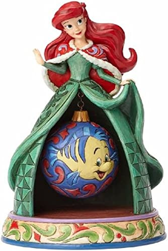Jim Shore Disney Traditions by Enesco Ariel Xmas