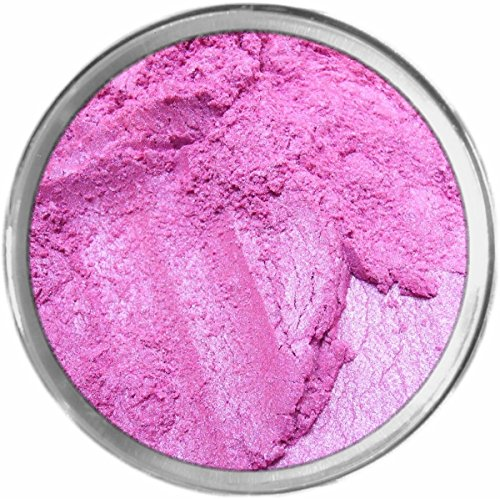 Petal Loose Powder Mineral Shimmer Multi Use Eyes Face Color Makeup Bare Earth Pigment Minerals Make Up Cosmetics By MAD Minerals Cruelty Free - 10 Gram Sized Sifter Jar