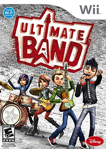 Ultimate Band - Nintendo Wii by Disney Interactive Studios (Band Wii Ultimate)