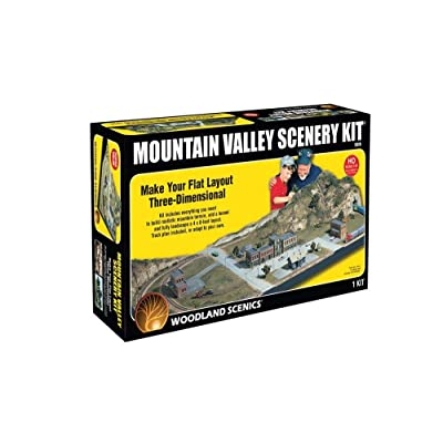 Mountain Valley Scenery Kit Woodland Scenics: Toys & Games [5Bkhe1103514]