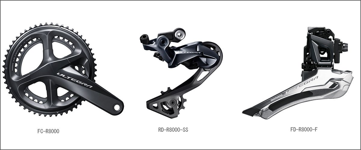 66d308d9f67 Shimano ULTEGRA R8020 DISC NEW 2018 COMPLETE GROUP SET: Amazon.co.uk: Sports  & Outdoors