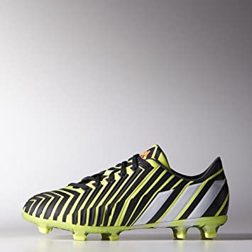 sale retailer 3cfbf c7996 Adidas Predator Instinct FG Junior (Light Flash Yellow, Dark Grey) Sz. 5.5