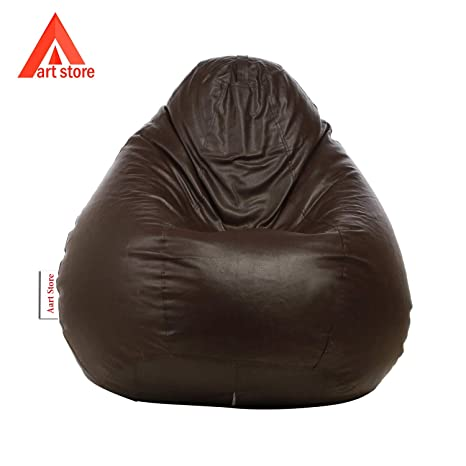 Style Crome Bean Bags XXXL Bean Bag Filled with Beans Filler  Brown