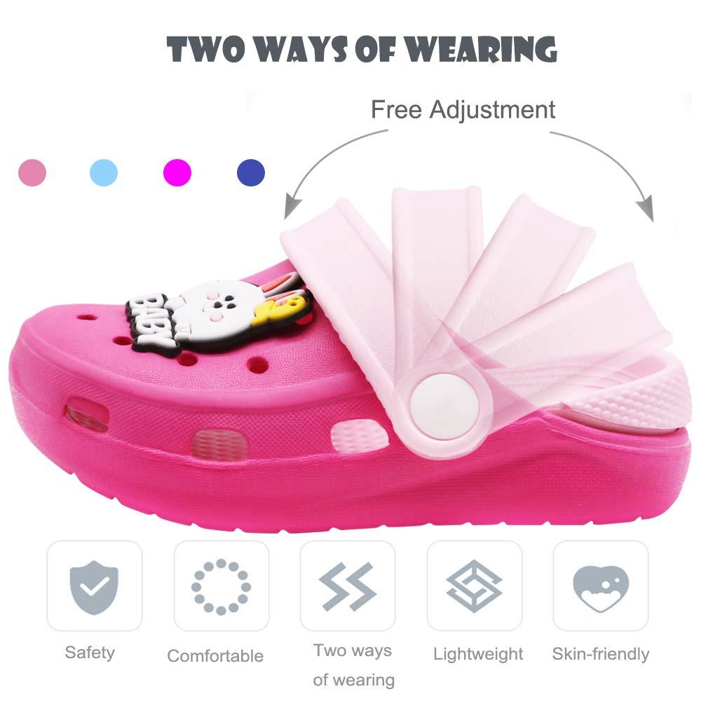 Boys Girls Summer Slide Beach Water Shower Pool Slippers Cute Cartoon Lightweight Sandals Toddler Little Kids Classic Clogs