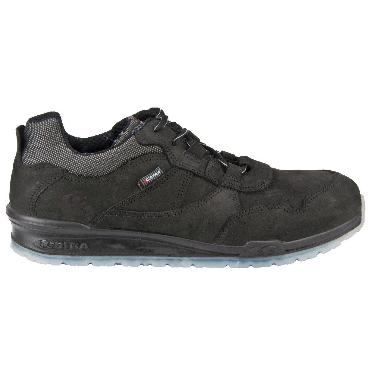 Cofra Sicherheits-Halbschuh Braddock S3 SRC, schwarz schwarz schwarz  057876