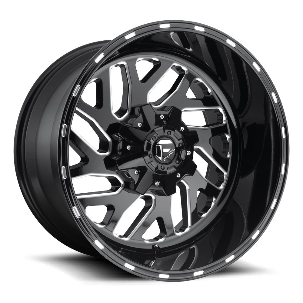 Fuel Offroad Triton Black Wheel (2012''/54.5inches -43mm Offset)