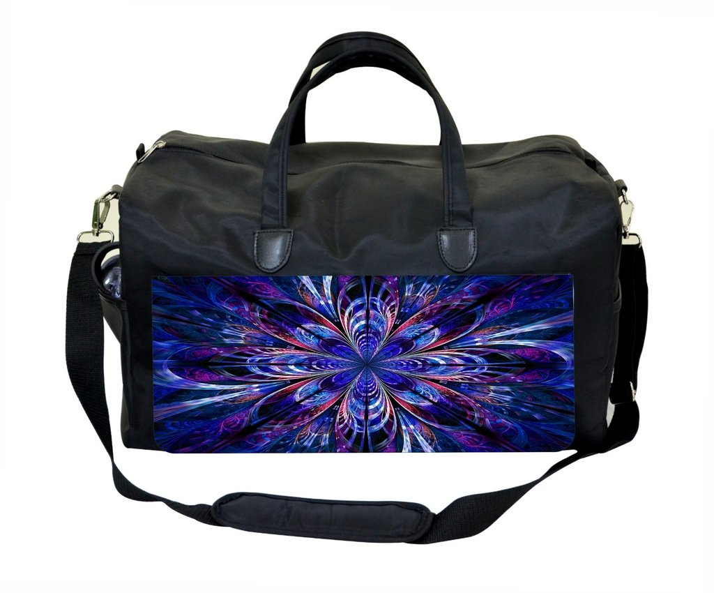 Abstract Fractal Print in Purple Therapist Bag