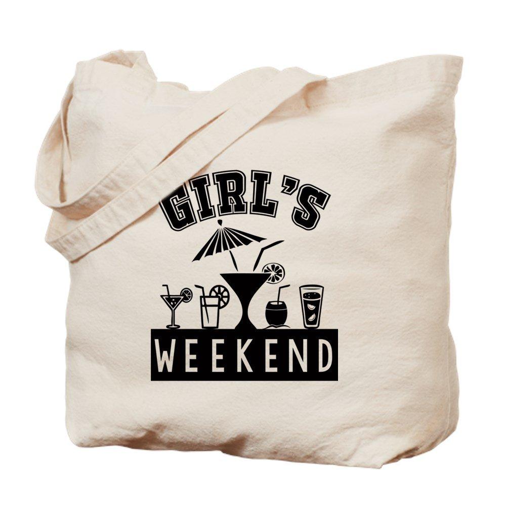 CafePress – 少女の週末 – ナチュラルキャンバストートバッグ、布ショッピングバッグ B01LITFA2Y