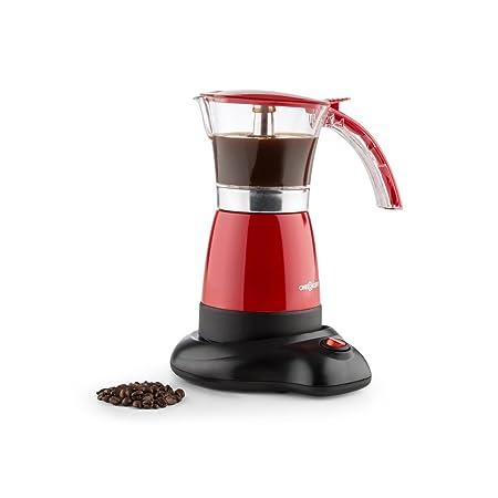 Oneconcept Funpresso cafetera eléctrica (480 W, 6 Tazas o 300 ml ...