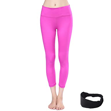 5b8fe7e8affde AIYIHAN Women Active Yoga Pants Running Sports Workout Leggings Hidden  Pocket - Pink -: Amazon.co.uk: Clothing