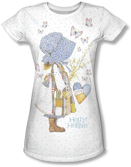 800c02a85748a9 Holly Hobbie-Maglietta da bambini con farfalla, per bambina bianco 14:  Amazon.it: Abbigliamento