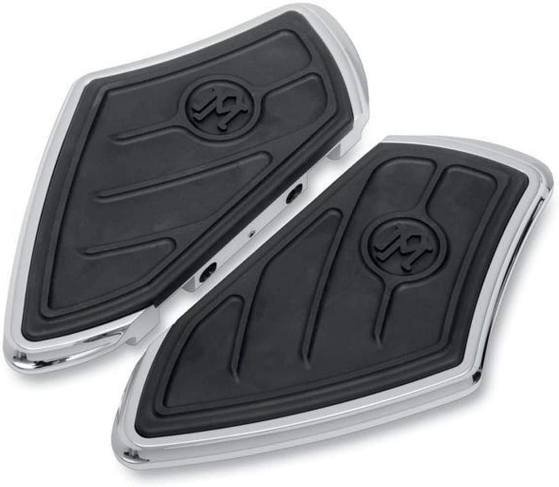 Performance MacHine Contour Passenger Floorboard BLK for H-D FLT FLST 1986-2011