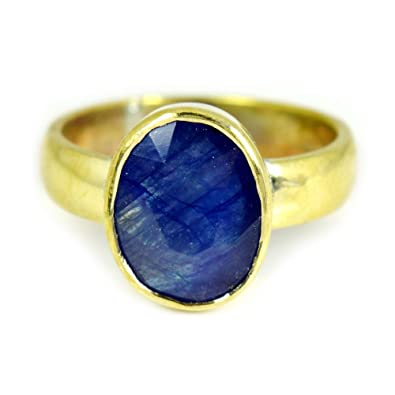 55Carat 4.5 CT Natural Gemstone Emerald Panchdhatu Alloy Ring For Men & Women eJggCxyz7Y