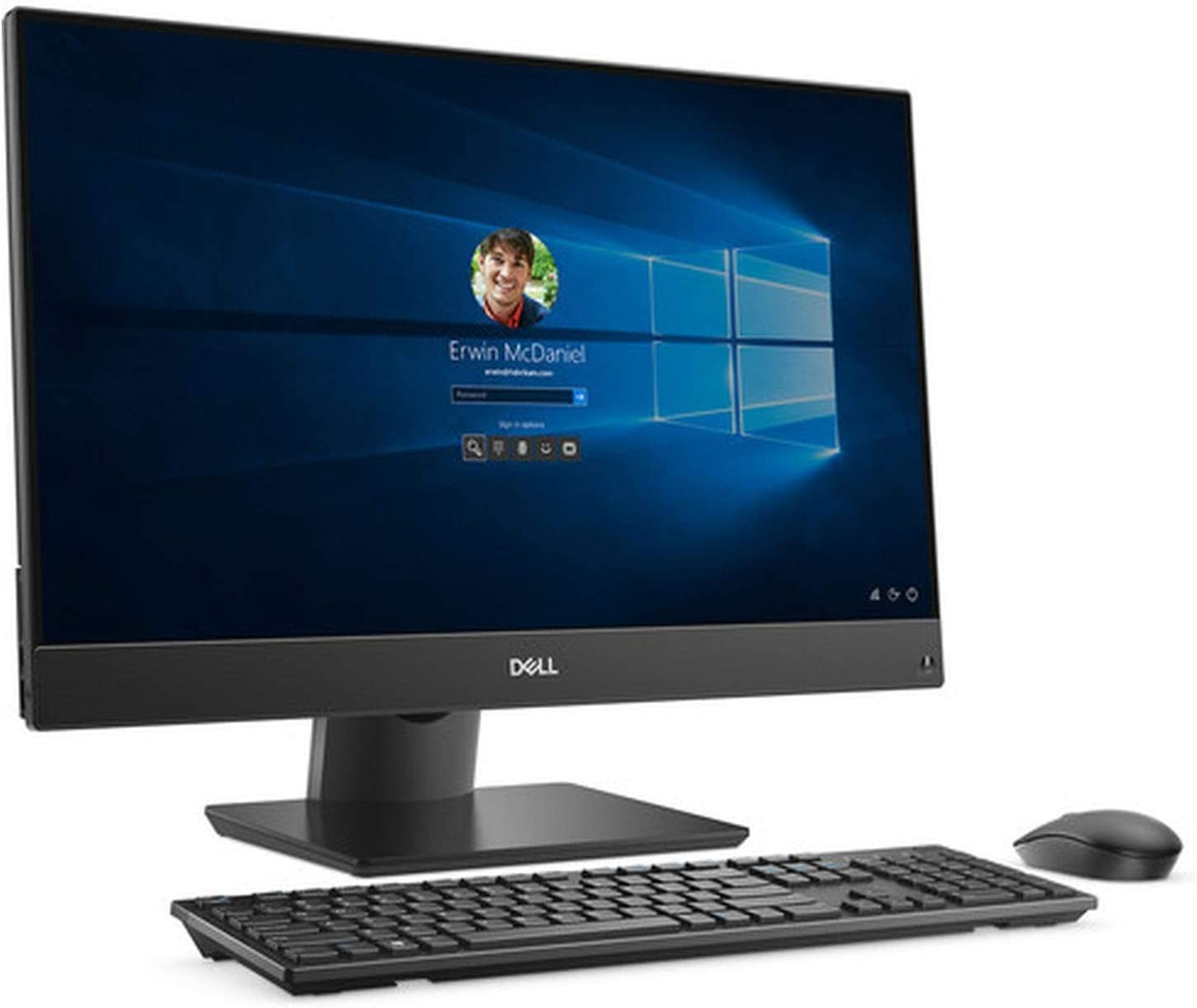 Dell OptiPlex 7470 All-in-One Computer - Intel Core i7-9700 - 8GB RAM - 1TB HDD - 23.8