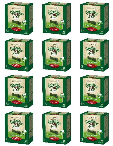 Greenies Weight Management Regular 12 x 27oz Canisters Master Case
