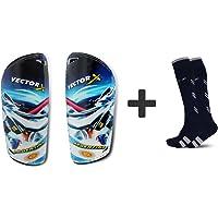 Vector X Combo of Soccer Socks & Shinpads