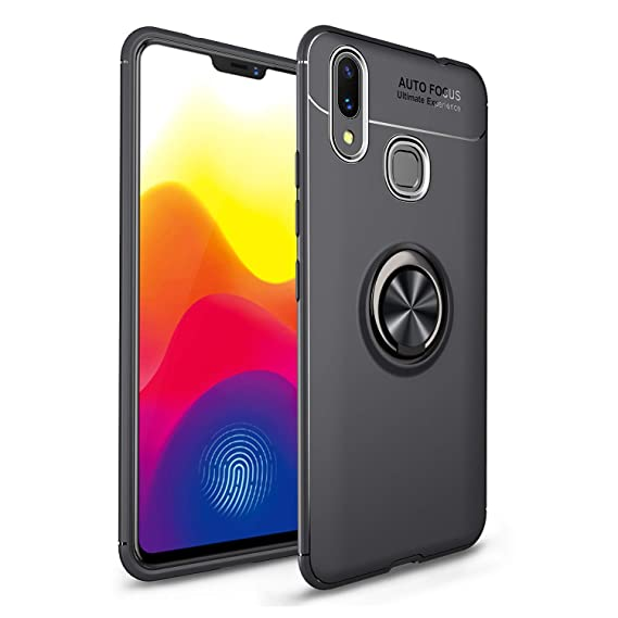 HIKERCLUB Huawei Nova 3i Case Ring Holder Kickstand 360 Degree Adjustable  Hidden Ring Stand Fit Magnetic Car Mount Slim Soft TPU Case Cover Huawei