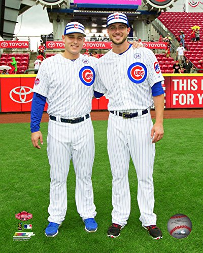 Mlb Kris Bryant Anthony Rizzo Chicago Cubs 2015 All Star Game Photo Size 8 X 10