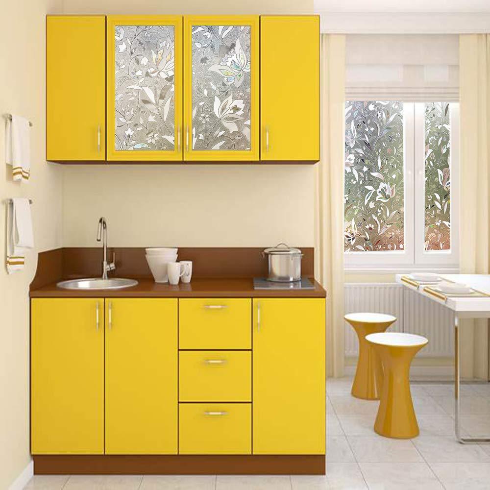 Lemon Cloud 3D Fensterfolie 90x200 Sichtschutz Folie Fenster für ...