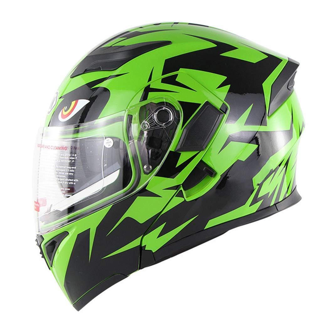 Integralhelme Motocrosshelme Klares und Kratzfestes Visier Klapp-Helm Modular-Helm Casco Integrale Moto Scooter Helme