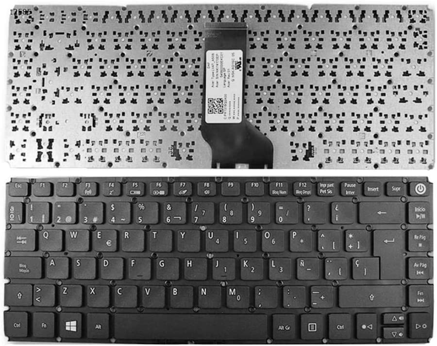 Almencla Keyboard Kit E5-473TG Replacement Compatible with Acer Aspire E5-473 Spanish Layout E5-473T E5-473G