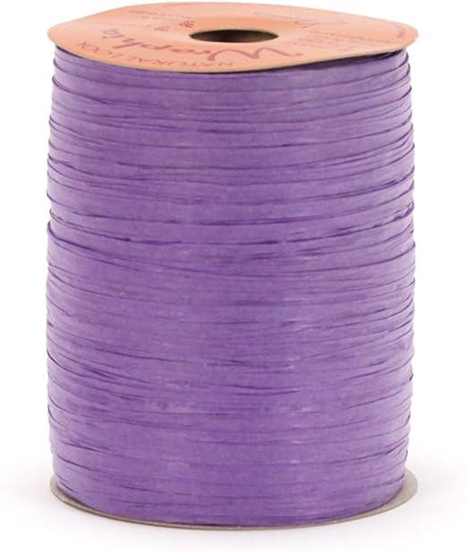 PURPLE Paper Raffia Ribbon 1//4 x 100 yards