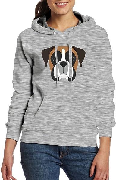 Boxing Womens Pullover Hoodie Long Sleeve Hooded Sweatshirts