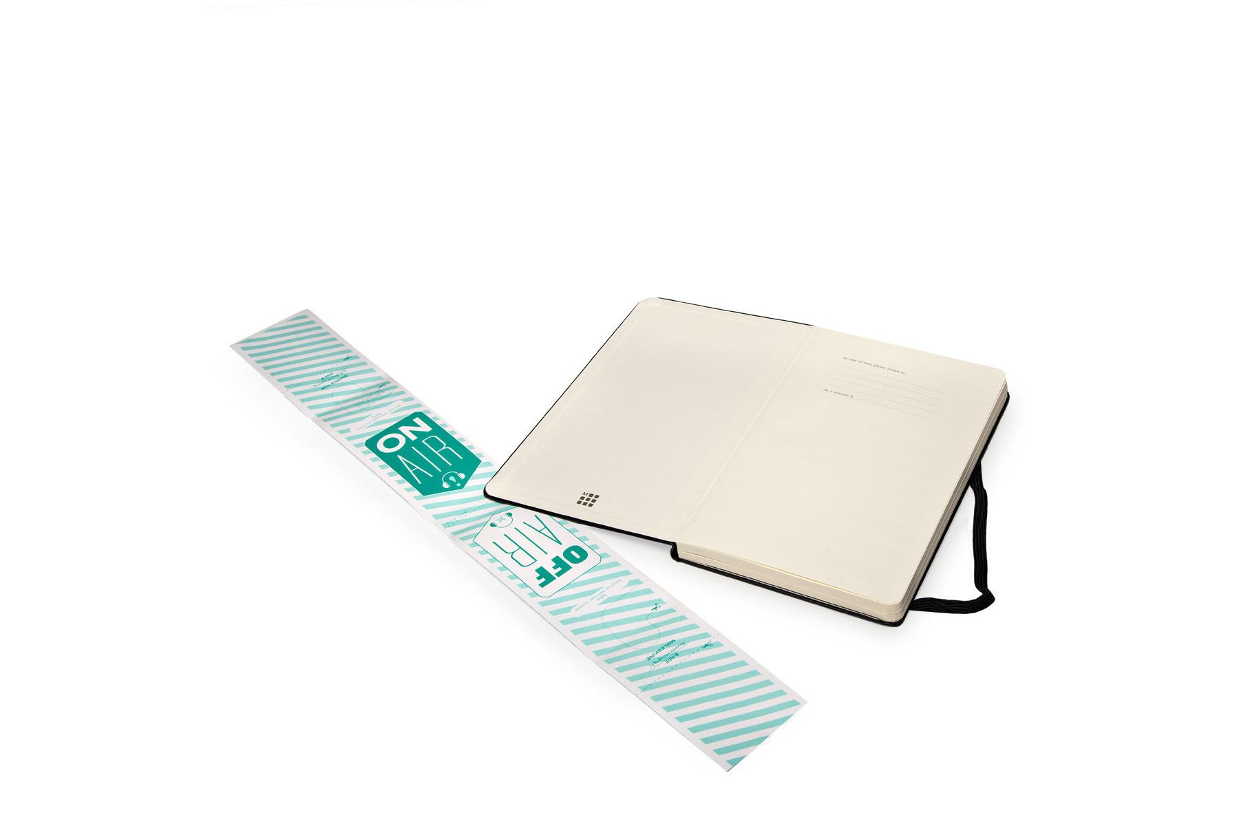 Moleskine Art Plus Music Notebook, Large, Black, Hard Cover (5 x 8.25)