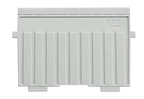 Han 9026-11 - Separadores de plástico para cajas de fichas, poliestireno, A6