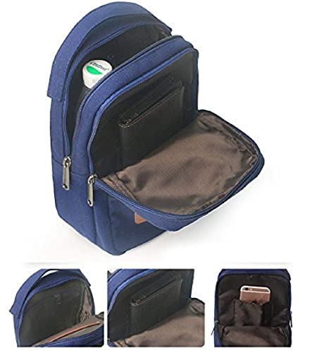 b6b5c770168c Image Unavailable. Image not available for. Colour  Luvina Sling Backpack  Anti-Theft Canvas Bag One Strap Crossbody Shoulder Travel Sport Hiking  Daypacks