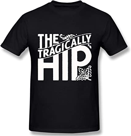 Dannifer The Tragically Hip Music Band Mens Leisure Shirts Short Sleeve