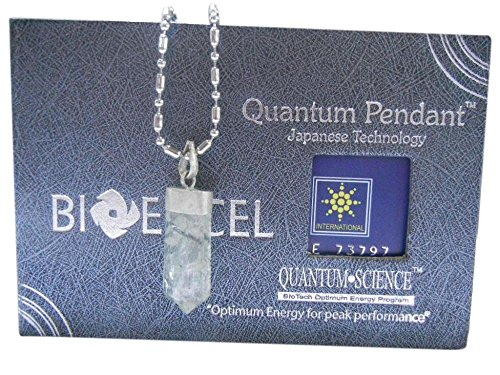 Pack of 10 Bioexcel Quartz Gemstones Handmade Necklace QW1001 QGHN White 5mm