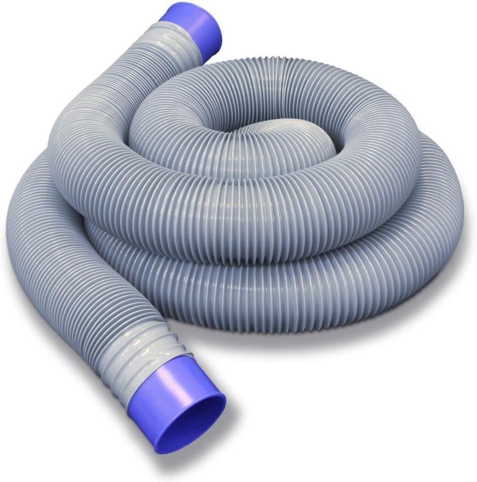 Prest-O-Fit 1-0065 Ultimate Sewer Hose - 25', White/Blue