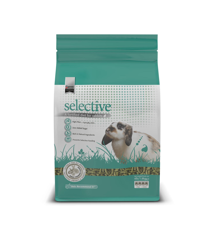 SupremePetfoods Science Selective Rabbit Food, 4 lb