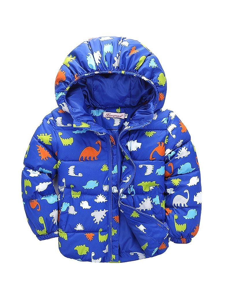 Piumino Bambina Bambino Invernale Giacca Piumino Cappuccio Cappotto Per Bambini