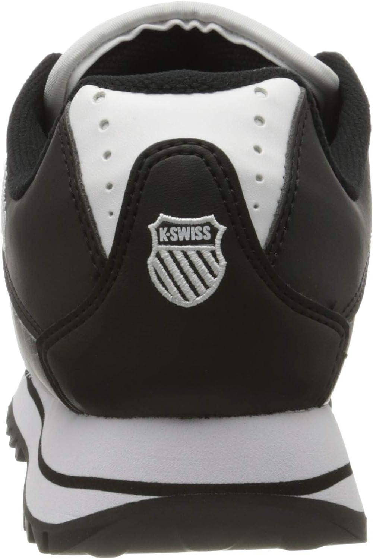 K-Swiss Verstad 2000 S Sneakers voor heren Zwart Zwart Wit 002