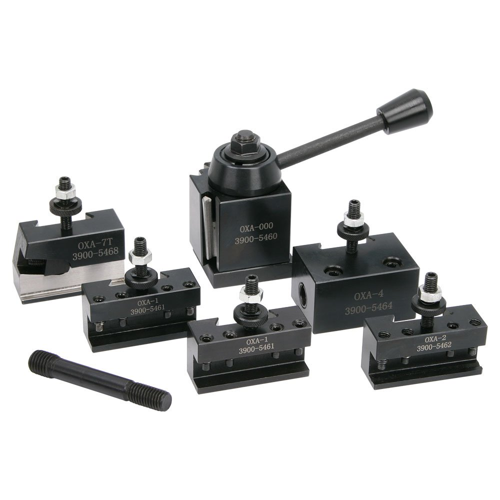 0XA Quick Change Tool Post Set for Bench Lathes by LittleMachineShop.com (Image #1)