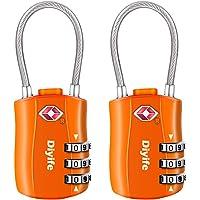 Diyife TSA Equipaje Locks, [2 Paquetes] 3 DíGitos