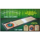 Bulk Buys 3 In 1 Shuffleboard Tabletop Game