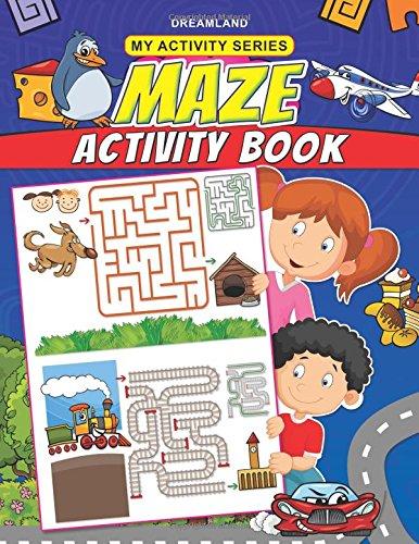 My Activity- Maze Activity Book