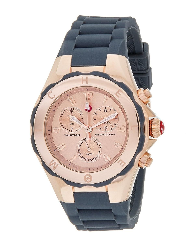 Michele Damen-Armbanduhr Gummi MWW12F000045