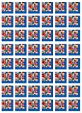 Beistle S58122AZ3 International Flag Luncheon Napkins 48 Piece, Multicolored