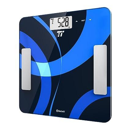 Smart báscula de baño, TaoTronics – con cuatro sensores casa baño peso escala de precisión